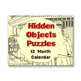 Hidden Objects Puzzles Calendar
