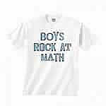 Boys Rock At Math