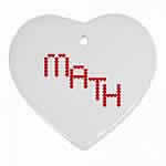 Math Red Hearts