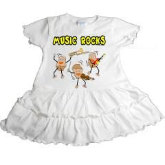 Music Rocks Romper