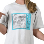 Ski Lift Hidden Objects Shirt