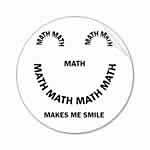 Math Smile Stickers