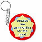 Mind Gymnatics Key Chain