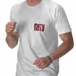 Red Math Text Shirt